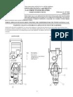 Johnson & Starley Eljan water heater User Instructions
