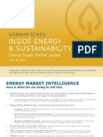 ENERGY MARKET INTELLIGENCE; WHAT'S HAPPENING TODAY