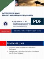 2013 Materi Evcad Untuk Unp Sl