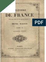 H.martin - Histoire de France - Tome 11