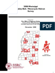 2008 Seatbelt Final Report