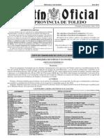 Calendario Laboral Toledo 2014