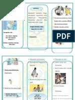 Leaflet Resiko Kehamilan Usia Muda