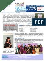 KSSC Newsletter Dec 2013