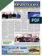 The Village Reporter - February 5th, 2014