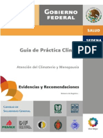 Guia Practica Clinica Climaterio y Menopausia