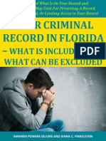 Your Criminal Record in Florida - What is Included and What Can Be Excluded
