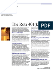 the roth 401k