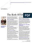 the roth 403b