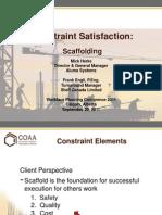 ConstraintSatisfaction Scaffolding