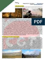 El incendio de Segorbe arrasa más de 190 hectáreas de pinar