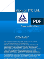 Presentation on ITC Ltd.