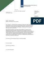 Kamerbrief Met Reactie Op Berichtgeving Metadata Telefoonverkeer