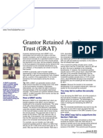 grantor retained annuity trust grat