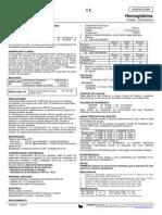 Determinacion Cuantitativa de Hemoglobina
