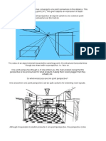 1&2 Point Perspective