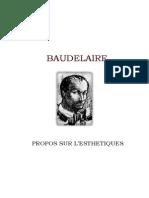 Baudelaire esthétique