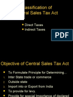 Sale Tax Act