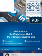 IE Marketing Club - Social Media Marketing on a Shoe-String Budget