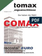 Comax Euro Neu
