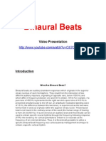 8179111 Binaural Beats Complete With ALL Info About Each Brainstate and Links to Programs and Cracks