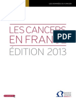 Les Cancers en France Edition 2013