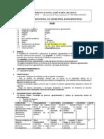 IAAA94 Tecnologia de Procesos Agroindustriales