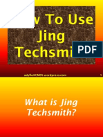 How to Use Jing Techsmith
