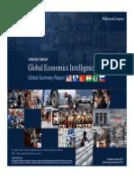 McKinsey Global Economic Intelligence Report - January 2014