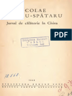 MilescuNicolaeSpatarul JurnaldecalatorieinChina Text