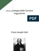 Neurobiologia Delle Funzioni Linguistiche