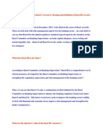 What is Basel III or What is Basel 3 Accord or Meaning and Definition of Basel III Accord