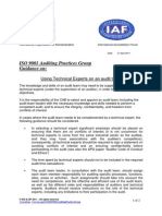 APG Technical Experts