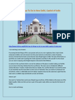 Top 10 Things to Do in New Delhi, Capital of India