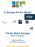 Fit for Work Europe