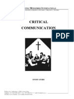 Crucial Communication - Study Guide