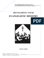 Developing Your Evangelistic Ministry - Study Guide