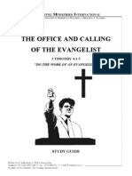 The Office and Calling of the Evangelist - Study Guide