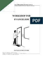 Workshop for Evangelism - Facilitators Guide