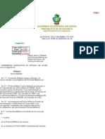 Lei nº 8.033-75 - Dispõe sobre o Estatuto dos Policiais Militares