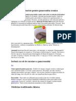 Tratamente Naturiste Pentru Pancreatita Cronica