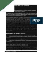 ELABORACIÓN DEL MAPA DE RIESGOS Y RECURSOS