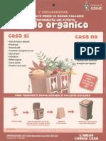 Manifesto italiano raccolta umido