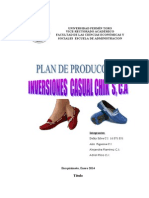 Plan de Produccion de Gerencia Industrial FASE 1