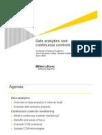 DataAnalytics CCMPresentation IIASFVChapter 16 Apr 2009