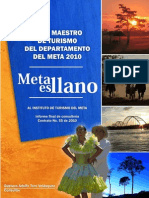 Plan Maestro de Turismo Del Meta