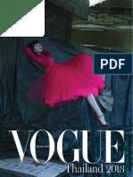 Vogue Thailand 2013