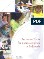 Access to Credit for Businesswomen in Indonesia (April 2006)