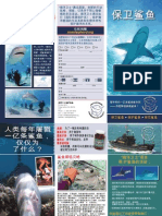 Sea Shepherd Shark Brochure Chinese