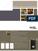 AMX / Lutron Lighting